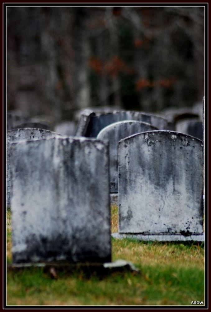 Photo in Random #cemetary #grave stone #old grave