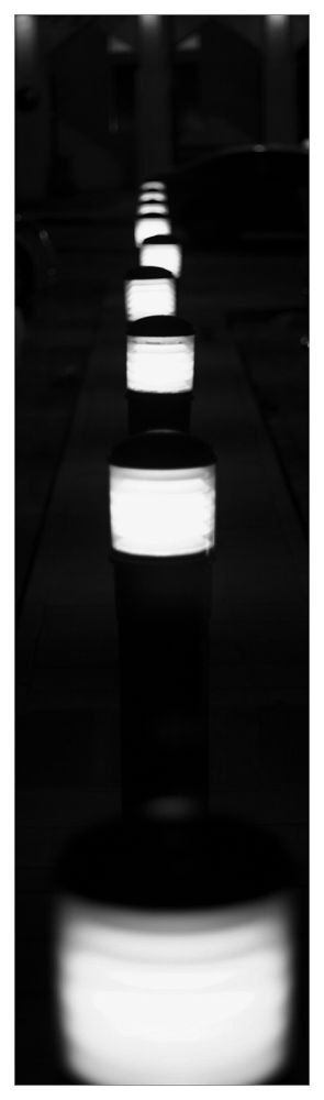 Photo in Black and White #ypa2013 #light #row