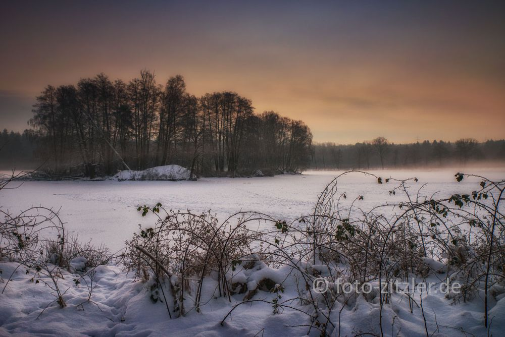 Photo in Landscape #island #winter #snow #cold