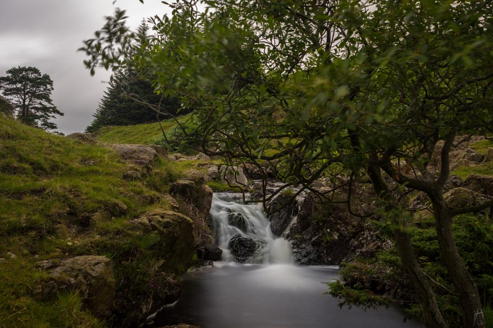 Photo in Landscape #nature #waterfall #water #river #long exposure #lake district #england #uk #landscape