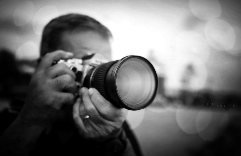 Photo in Black and White #sunset #photographer #blackandwhite #street #people