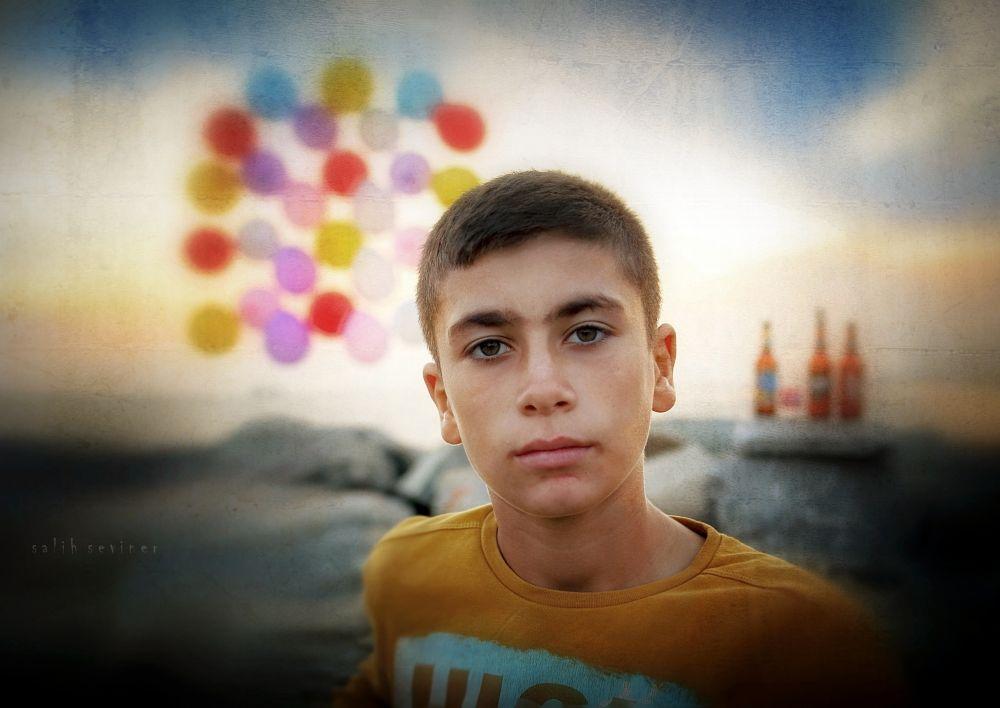 Photo in Fine Art #youngboy #theboss #owner #portrait #street