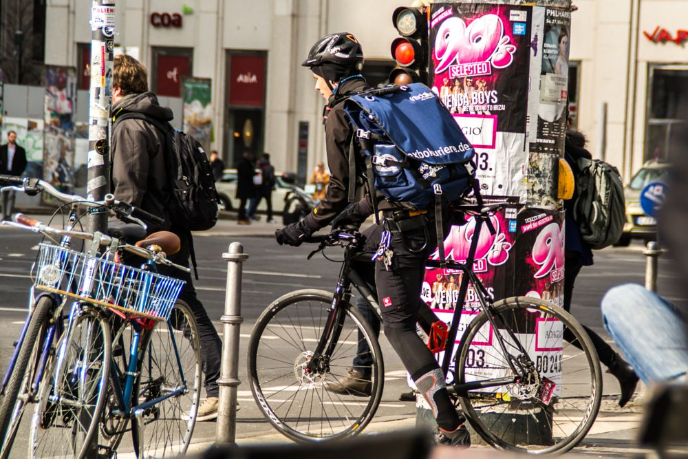 Photo in Street Photography #city #street #travel #light #urban #bicycle #germany #berlin #streetphotography