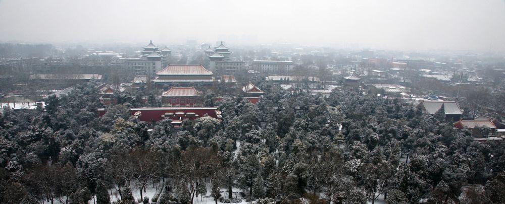 Photo in Cityscape #forbidden city #unesco #world heritage #china #beijing #architecture #cityscape #palace #winter #white