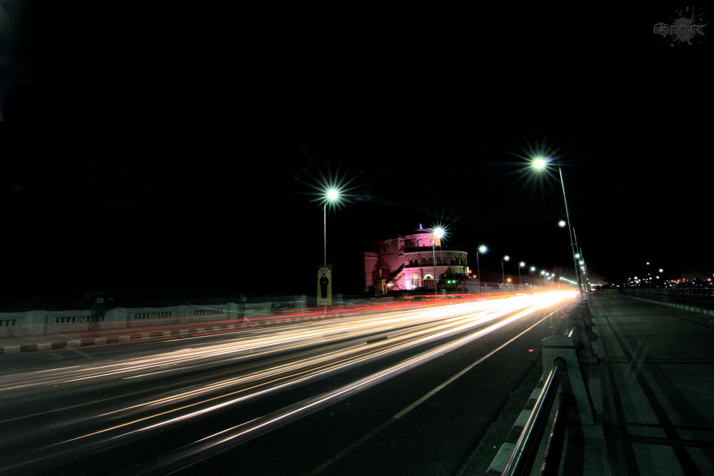 Photo in Street Photography #light trail #tokina #11-16mm #11mm #wide angle #monfrotto #tripod #cable release