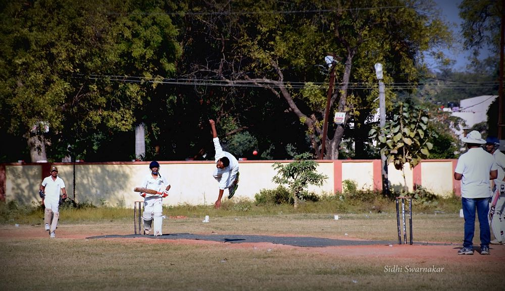 Photo in Sports #cricket #on the #player #bowler