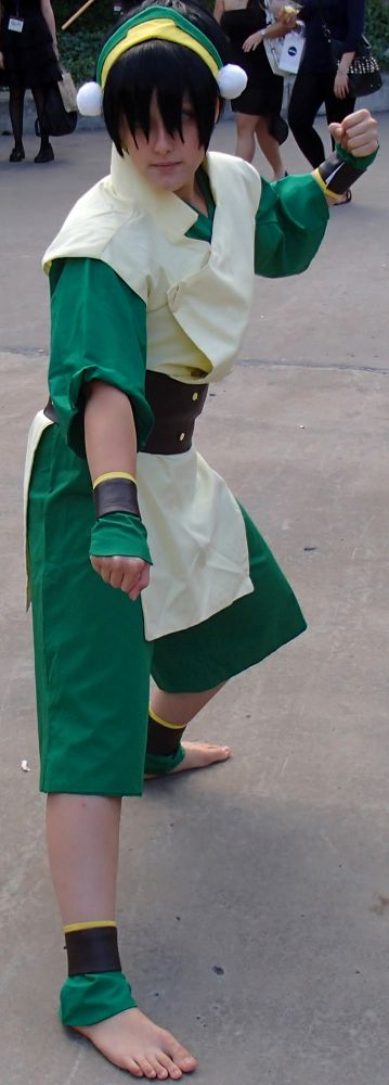 Photo in Portrait #avatar the last air bender #toph #anime #cosplay