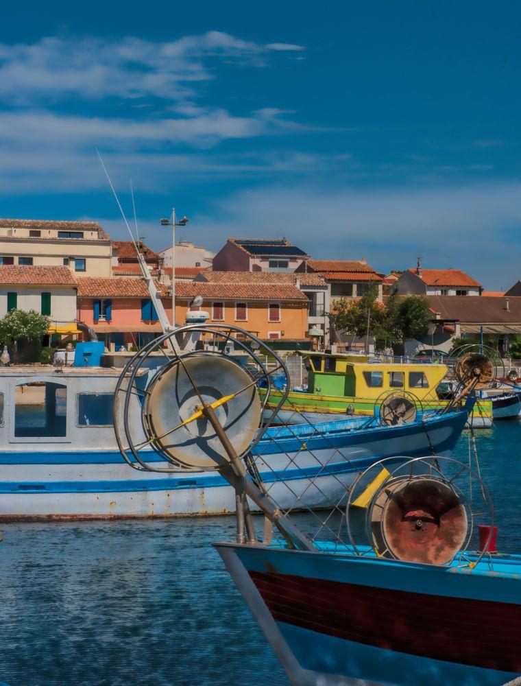 Photo in Cityscape #harbour #sun #light #south #mediterranee #mediterranean #fish #fisherman #boat #fishboat #carro #martigues