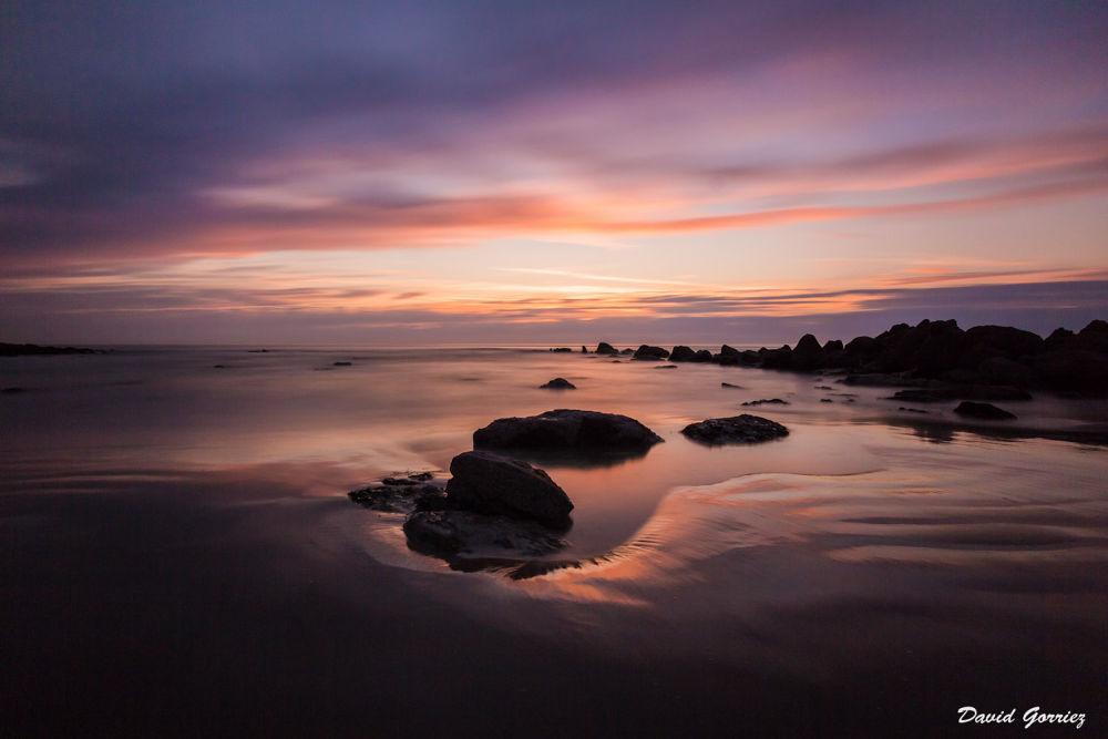 Photo in Landscape #pose longue #long exposure #cap gris nez #france #nord #mer #sea #sun