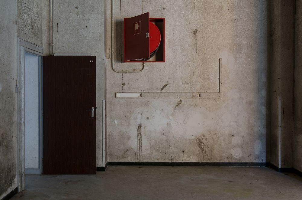 Photo in Interior #door #europe #old #urban #abandoned #room #indoor #exploration #hospital #forgotten #lost #belgium #urbex #indoors #sanatorium #urban exploration #urbanexploration #fire hose