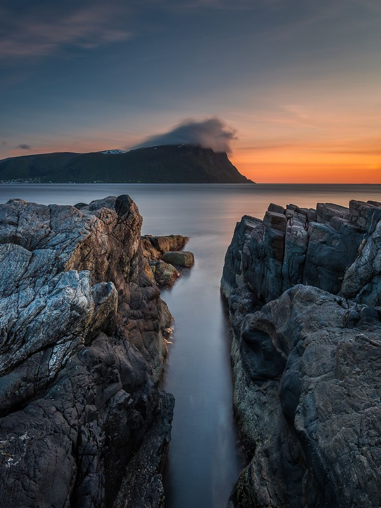 Photo in Random #norway #water #sunset