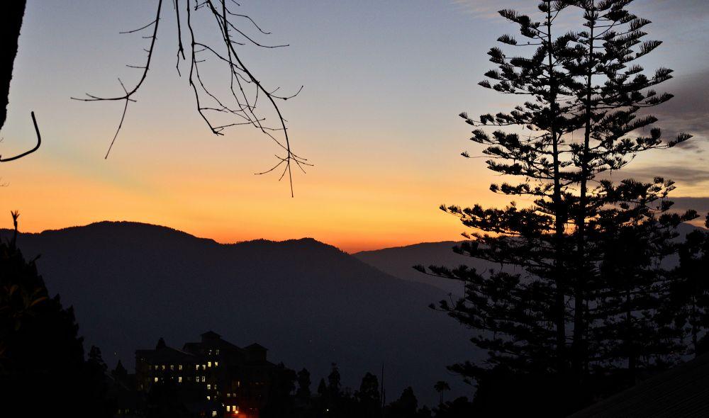 Photo in Landscape #sunset #hills #darjeeling