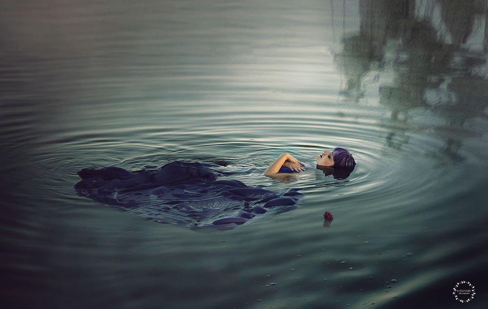 Photo in Fine Art #woman #water #conceptual
