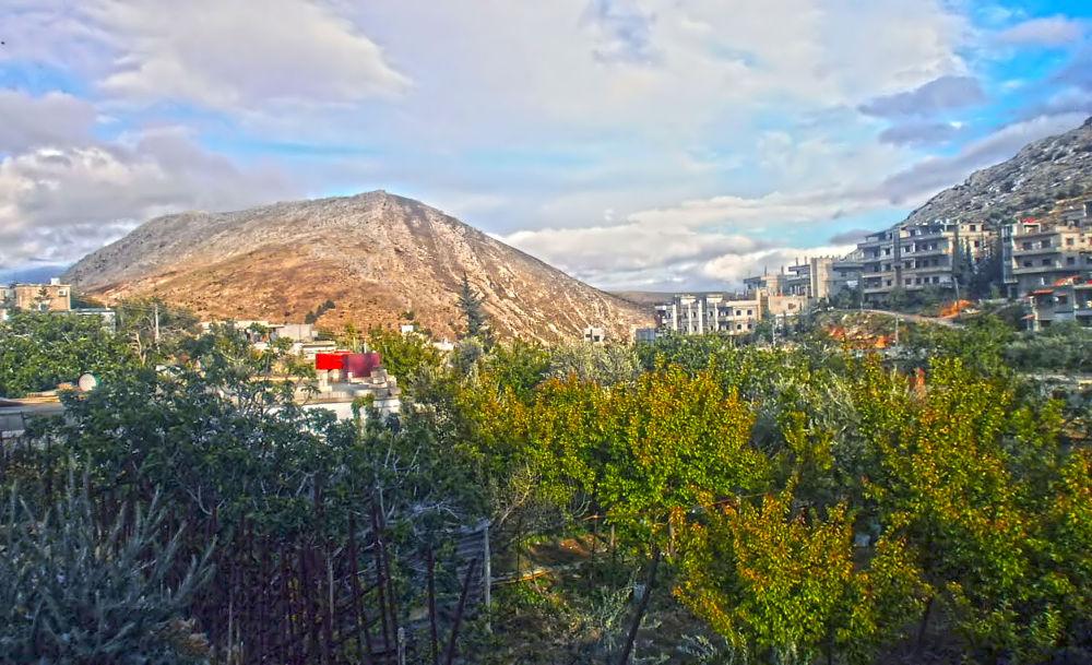 Photo in HDRI #landscape #ain mneen #nature #mountain