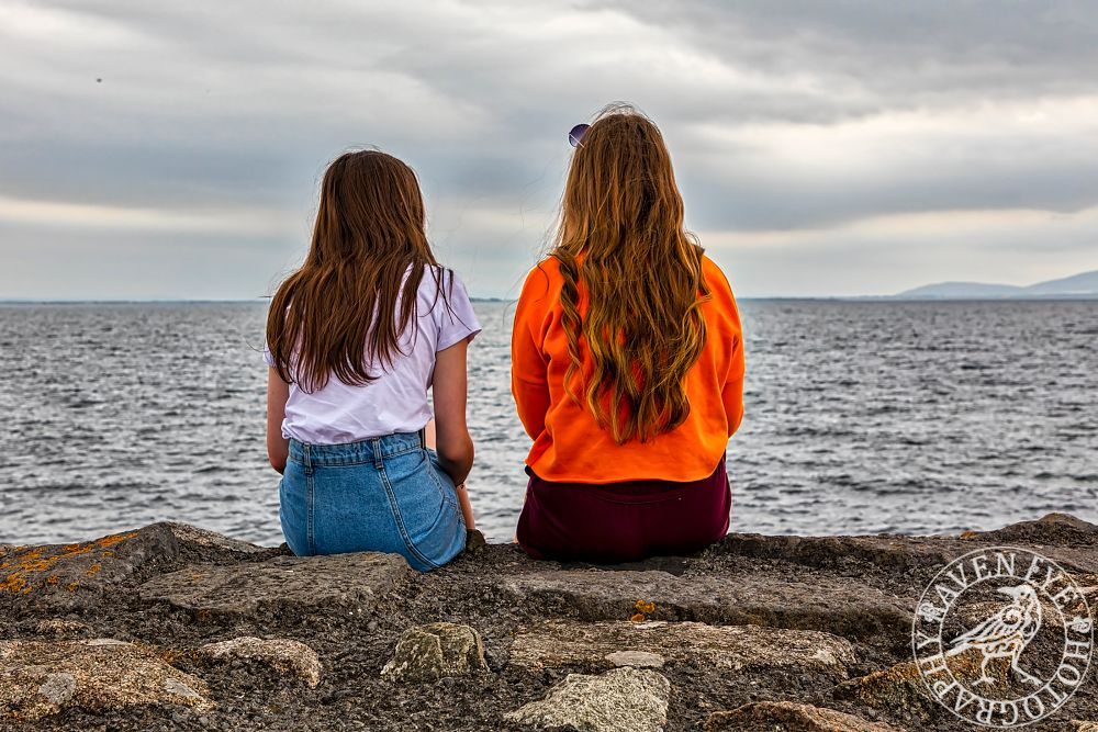 Photo in Random #girls #hair #colours #sea #clouds #photography #outdoors #canon