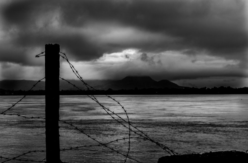 Photo in Black and White #street #abstract #black and white #blackandwhite #b/w #sea #emotions #water #feelings