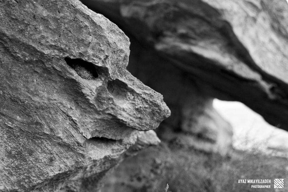 Photo in Abstract #rock #man #stone #baku #dubendi