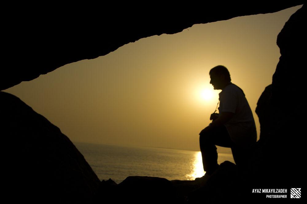 Photo in Random #dawn #sunset #cave #photographer #dubendi #baku