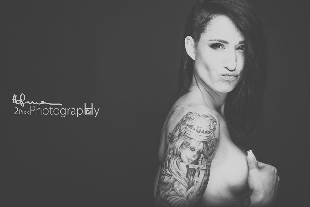 Photo in Portrait #tattoo #girl #ypa2013 #sexy #studio #strong #live