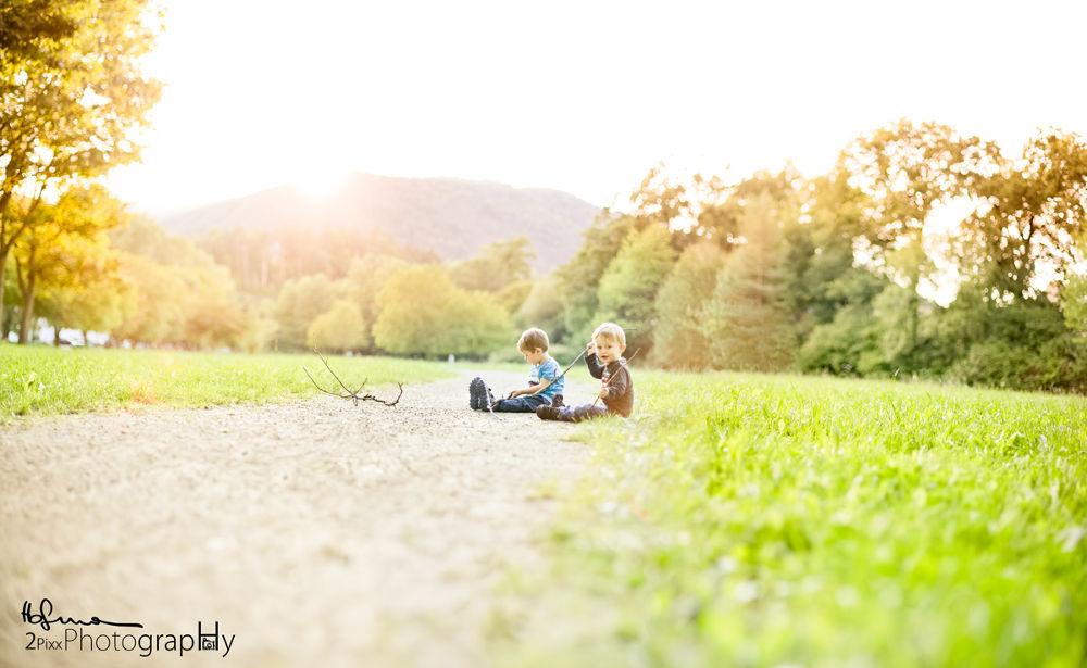 Photo in Portrait #kids #playing #sunset #wood #street #fun #ypa2013