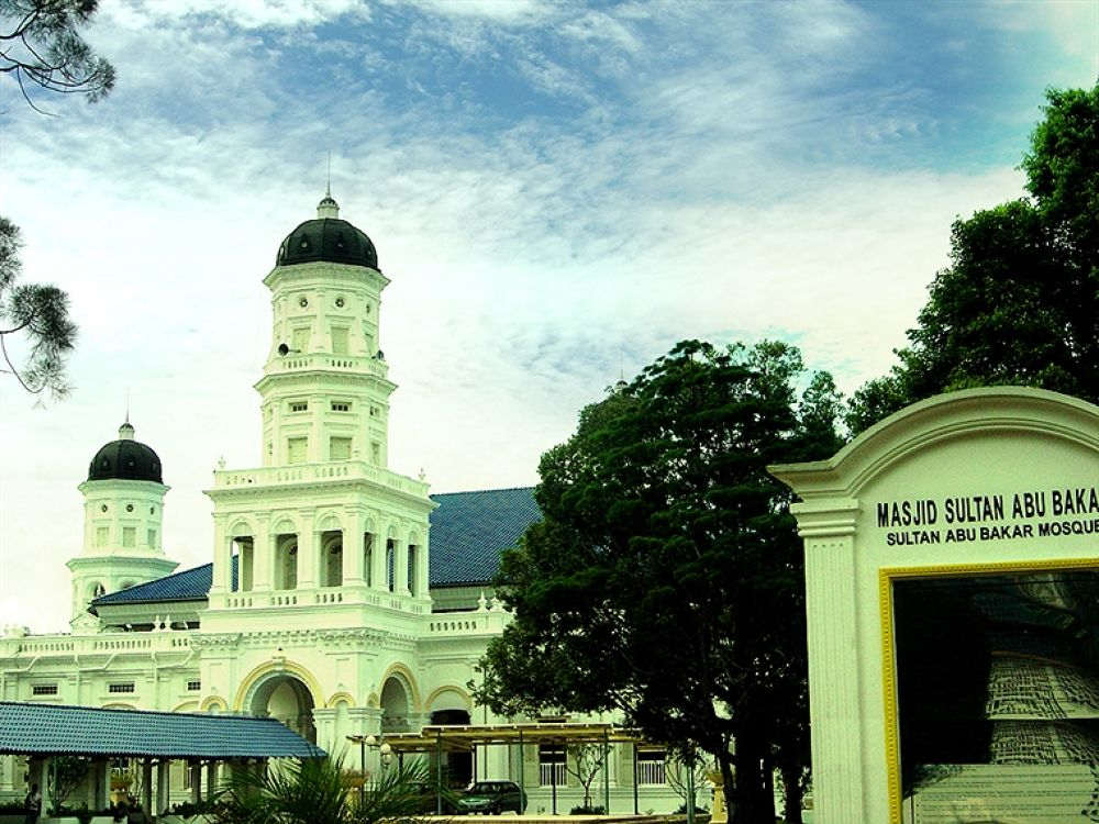 Photo in Random #masjid #abu #bakar #johor #malaysia