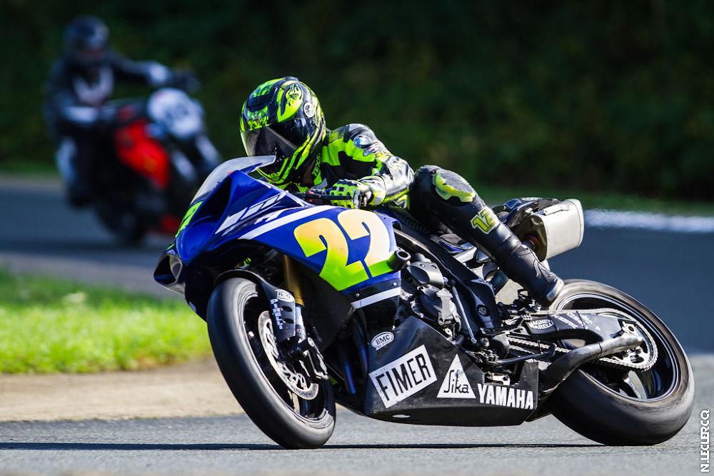 Photo in Sports #r1 #22 #belgium #yamaha #blue #yellow #highside #crash #moto #bike #track #folembray #circuit #travers #chute