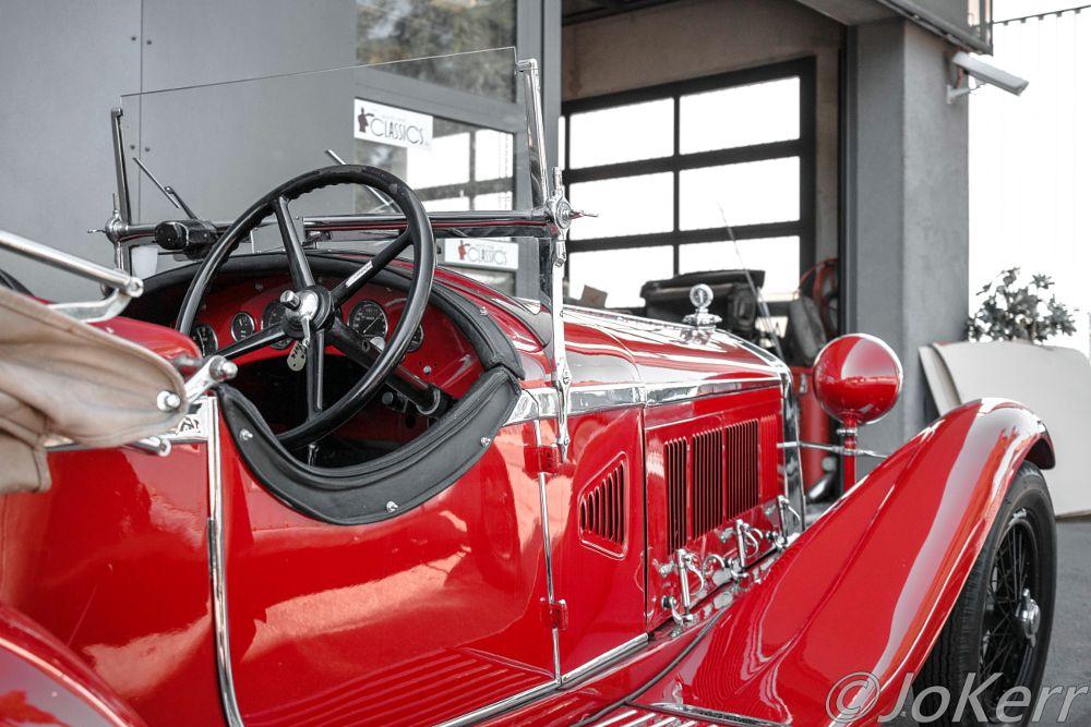 Photo in Vehicle #alfa #car #classic car #oldtimer #vintage #old #alfa romeo #red