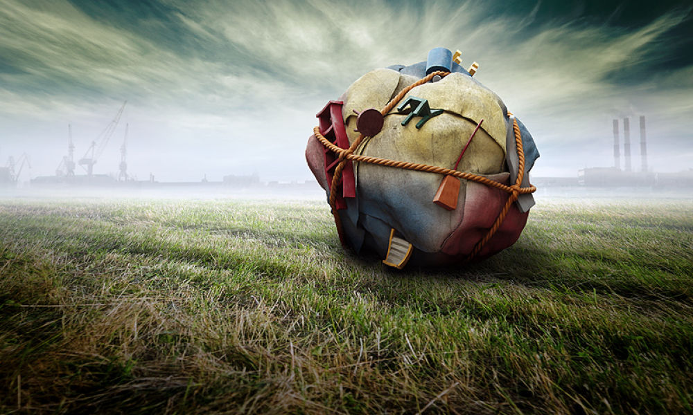 Photo in Fine Art #meanwhile in russia #coleopter #ball #fieald #sky #ypa2013