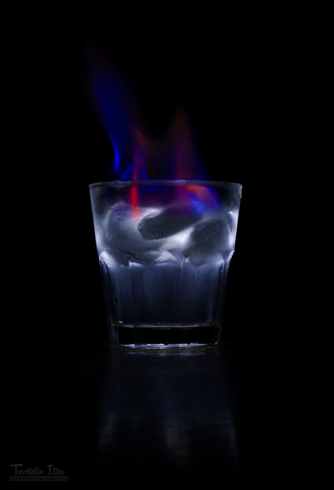 Photo in Abstract #ypa2013 #fire #ice #glass #low #key #c3ck0