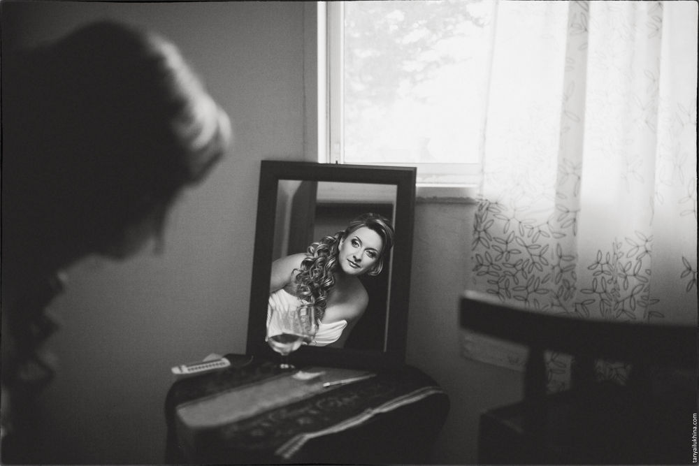 Photo in Wedding #ypa2013 #bride #wedding #portrait #mirror