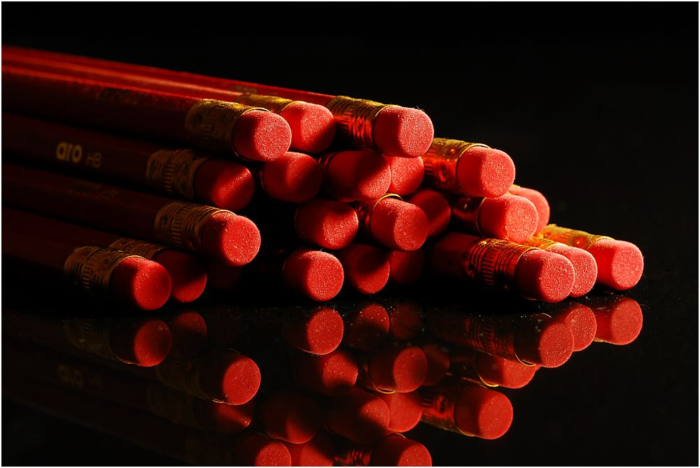 Photo in Fine Art #red #pencil #eraser