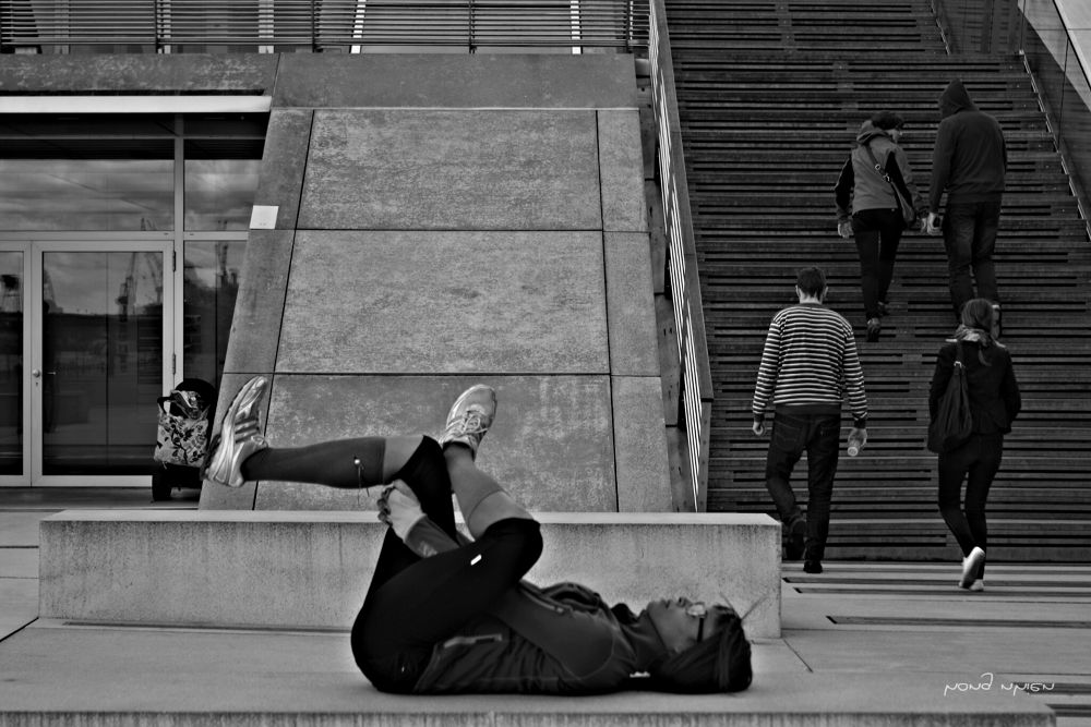 Photo in Street Photography #out sind ...sport.