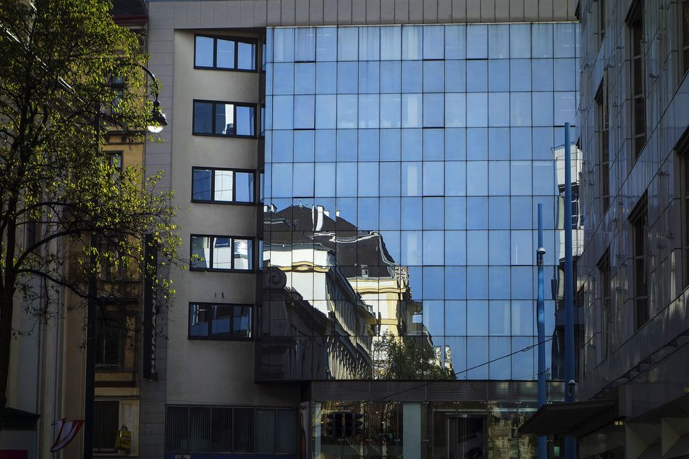 Photo in Cityscape #reflections #city #architecture #street