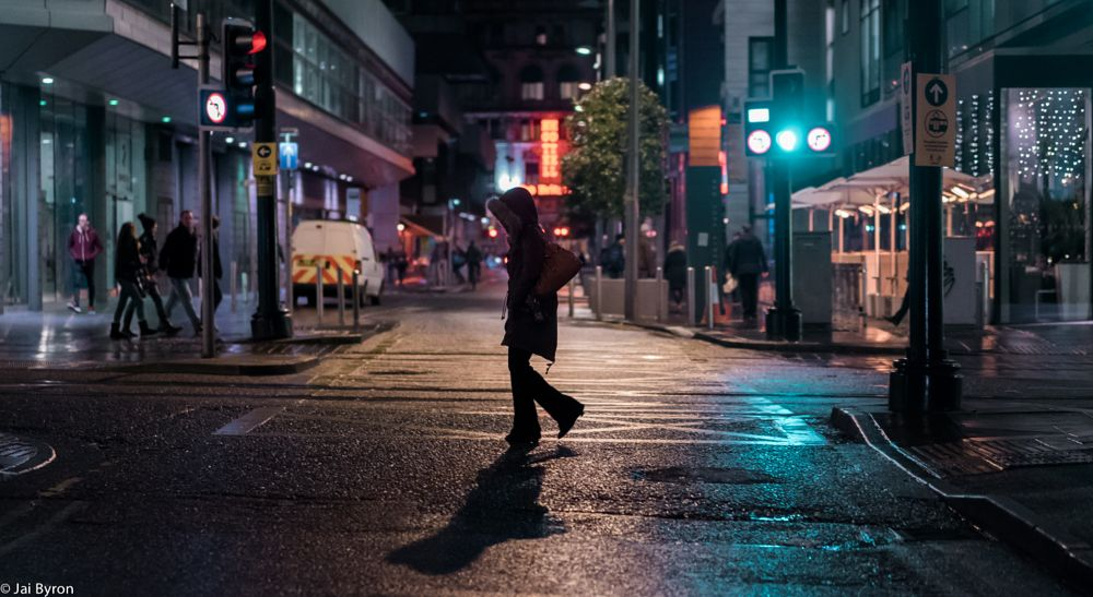 Photo in Street Photography #manchester #night #ambientlight