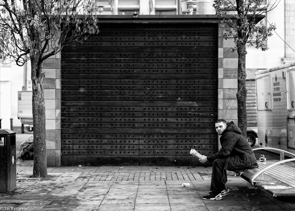 Photo in Street Photography #eyecontract #manchester #streetphotography