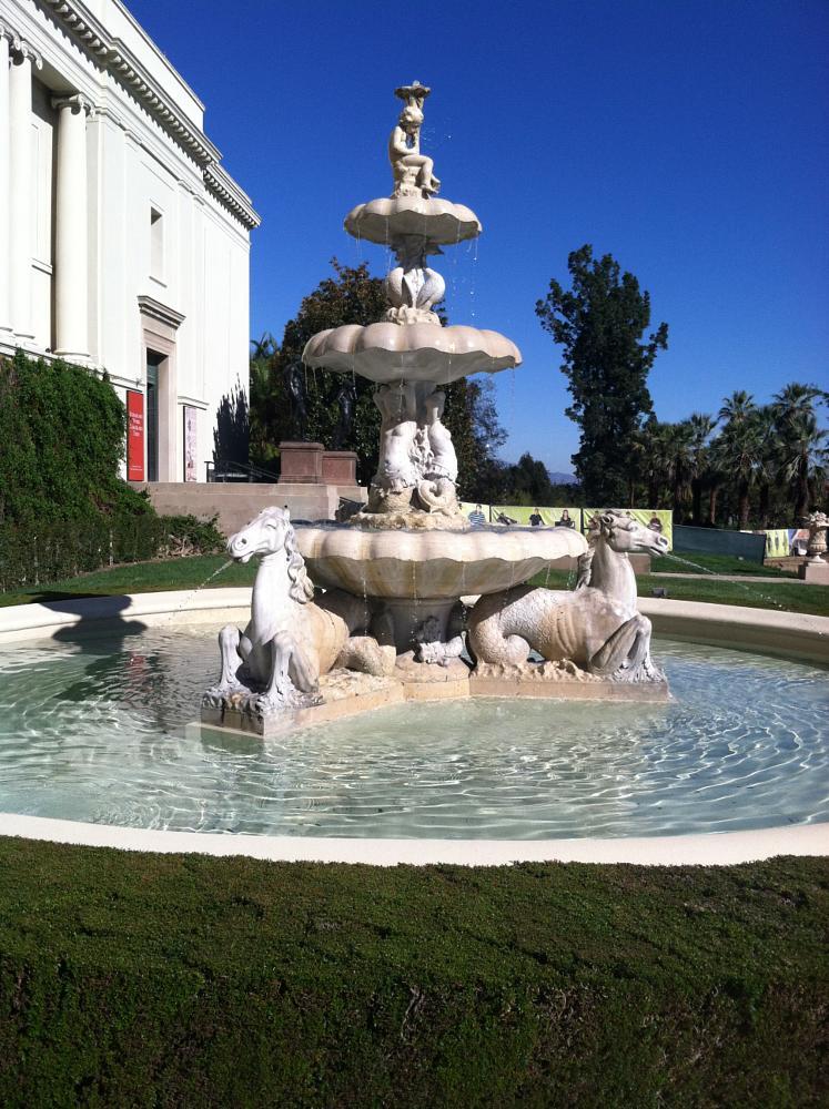 Photo in Journalism #italian #baroque #fountain #huntingtonlibrary #sanmarino #socal