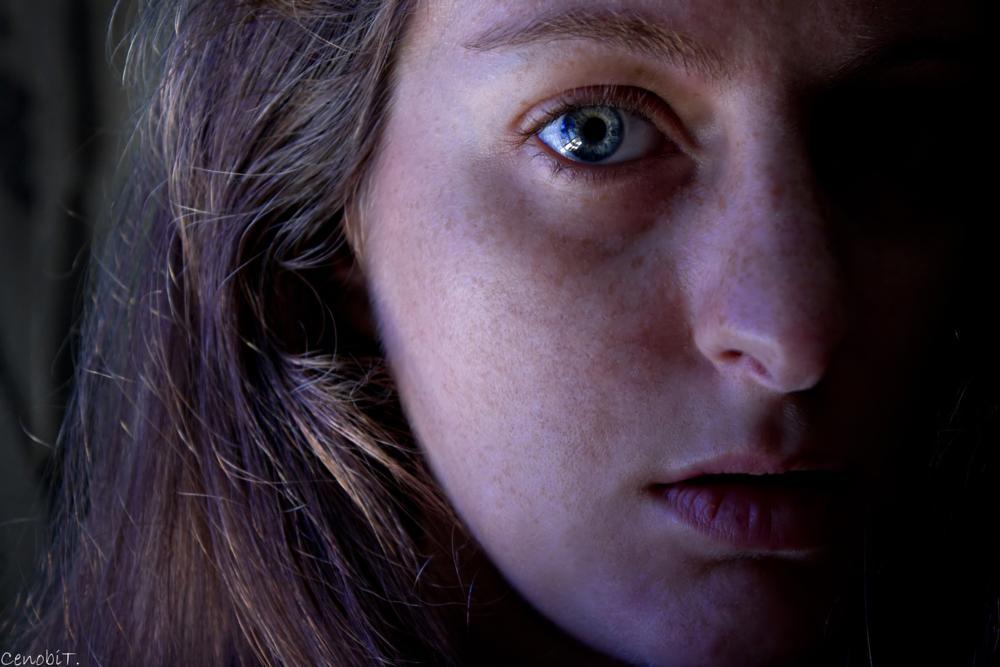 Photo in Portrait #selfportrait #freckles #summer #emotive #skin #portrait