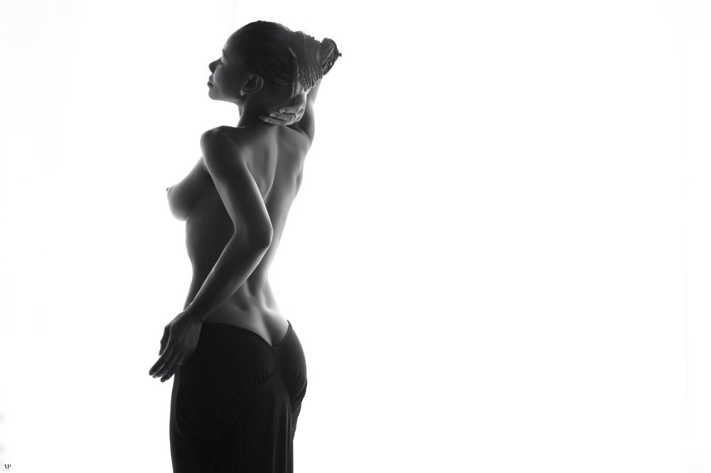 Photo in Nude #model beauty #black and white #fashion #nude #sensual #poses #popular #portrait #pitoulis #photo #amazing #pic #photography #femme #woman #art #glam #daylight #natural light #sexy #girl