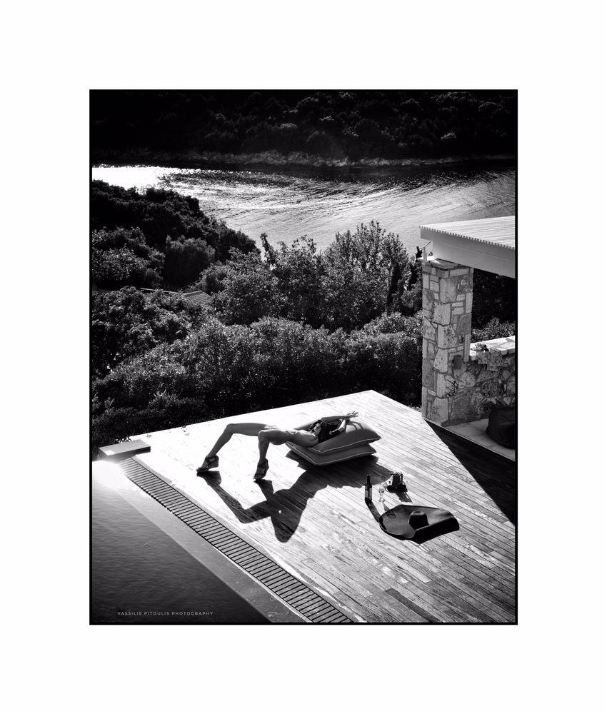 Photo in Black and White #black and white #fashion #nude #sensual #poses #popular #portrait #pitoulispphoto #new #art #elegant #girl #glam #mood #vintage #style #love #film #movie #amazing #pics #femme #woman #legs #daylight