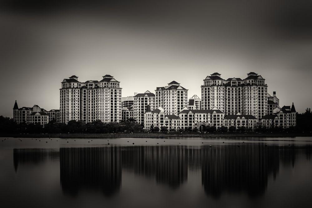 Photo in Architecture #city #architecture #singapore #residences #buildings #river #water #ravikumar #jambunathan #travel