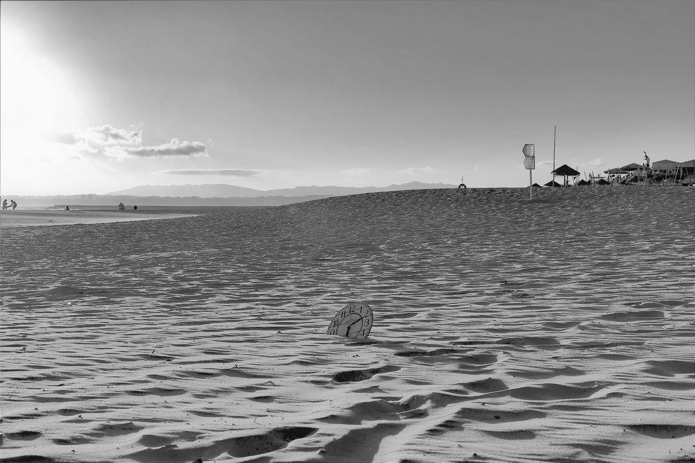 Photo in Landscape #time #tempo #clok #sand #ocean