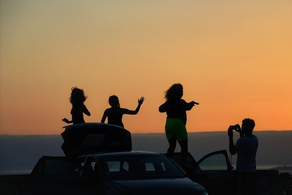 Photo in Travel #free #sunset #sun #por do sol #gente
