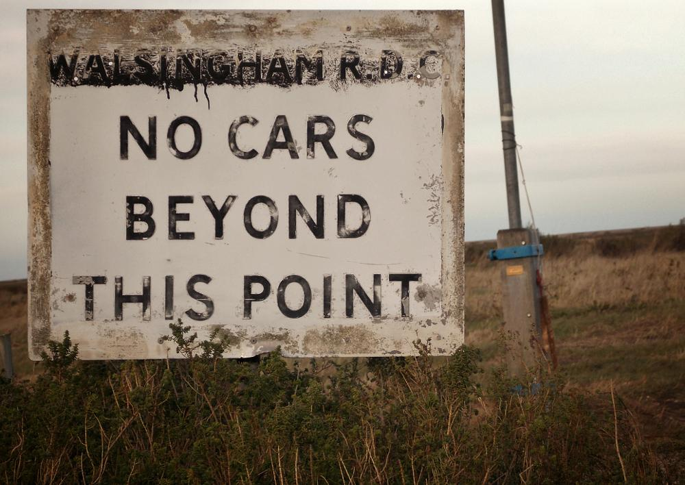 Photo in Random #signs #roads #norfolk #country