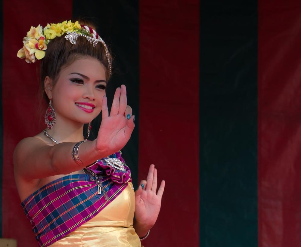 Photo in People #dancing #thailand #evenement #antwerp #belgium #girl
