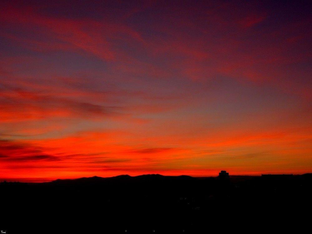 Photo in Random #amanecer #bulgaria #fuego #belleza #rojo #sunrise #nature #naturaleza