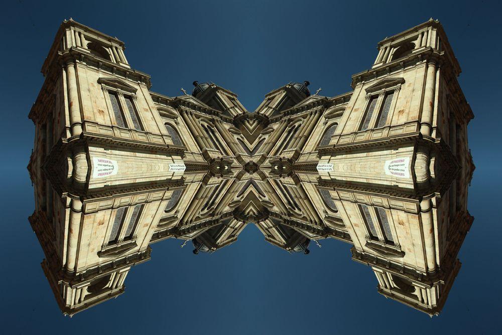 Photo in Architecture #mirros #bolivia #la paz #catedral