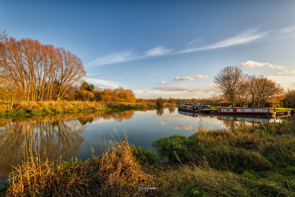Photo in Landscape #boats #trees #river