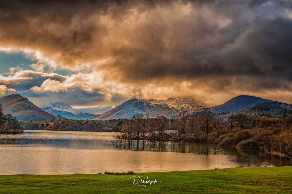 Photo in Landscape #lake #clouds #fells