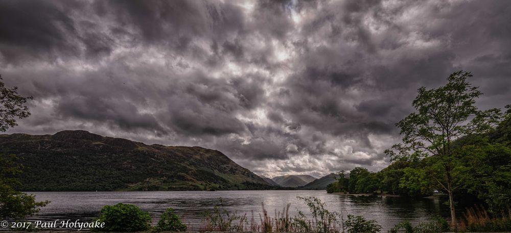 Photo in Landscape #ullswater #clouds #fells