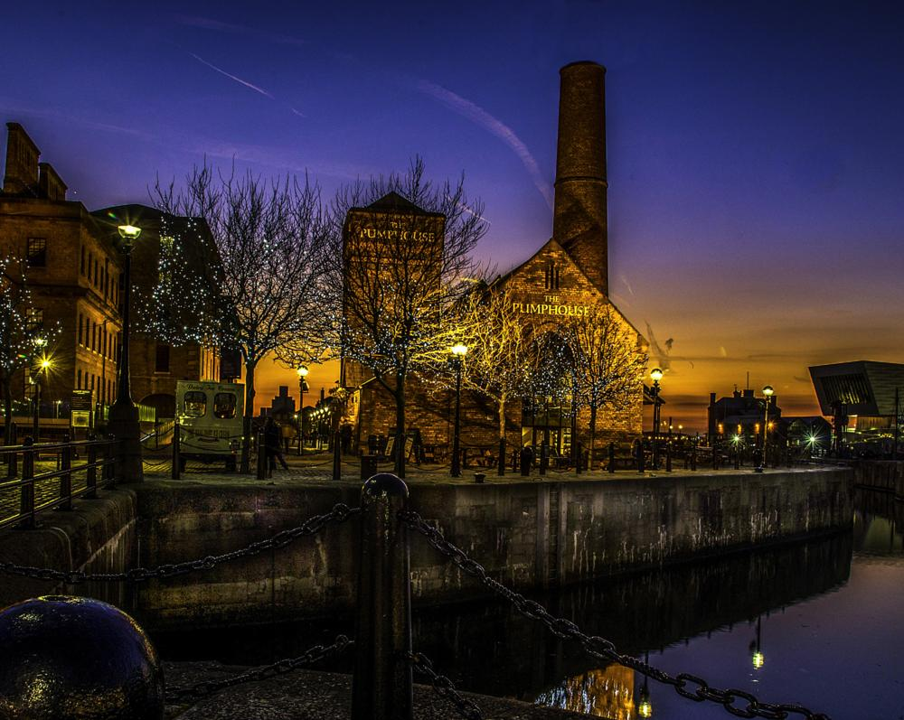 Photo in Cityscape #slow shutter #liverpool dock #sunset